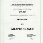 diplome graphologue